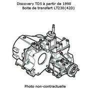 Boite de transfert pour Discovery TD5 ech/std