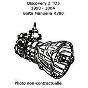 Boite de vitesse manuelle pour Discovery 2 TD5 ech/std
