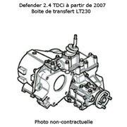 Boite de transfert pour Defender 2.4 TDCi ech/std