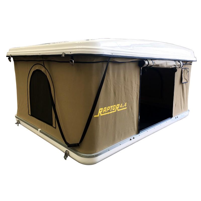 tente de toit rigide raptor 4x4 dream revenge land service pi ces et accessoires pour land rover. Black Bedroom Furniture Sets. Home Design Ideas