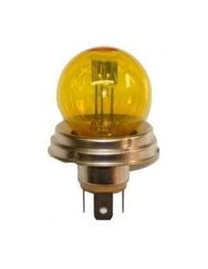 Ampoule Code Européen couleur JAUNE