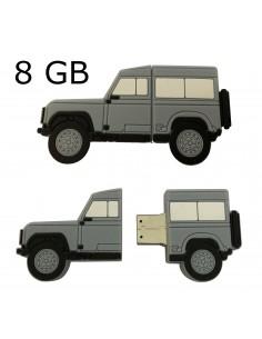CLEF USB 8GB forme Defender 90 grise