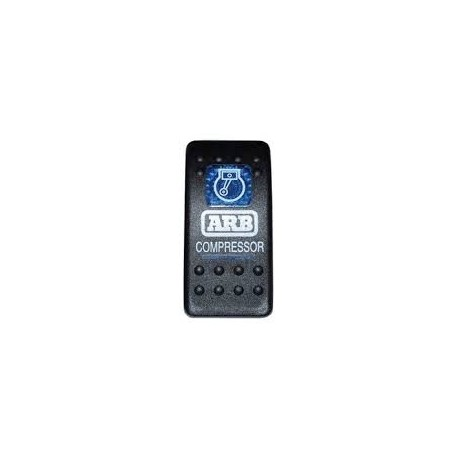 """Cache """"Rear Air Locker"""" d'Interrupteur de Tableau de Bord pour Compresseur ou Blocage ARB"""