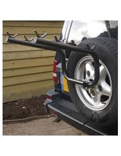Land Rover Discovery 2 Porte-Vélo Roue de Secours Fixation 4 Vélo Support