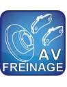 Freinage Avant Monté jusqu'en 2005