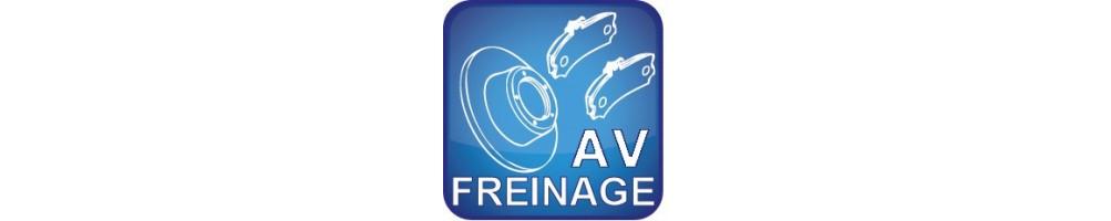 Freinage Avant jusqu'en 2005