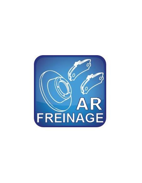 Freinage Arrière jusqu'en 2005